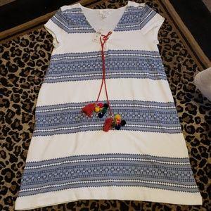 Loft Boho Dress size Medium